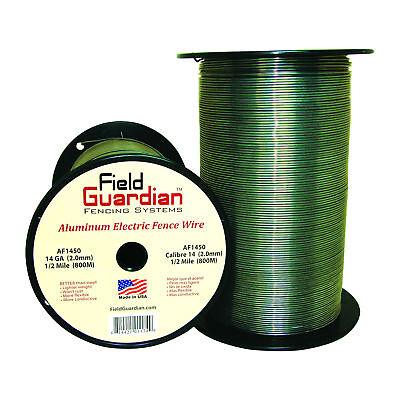 Field Guardian 14 Ga Aluminum Wire 12 Mile Electric Fence Af1450 814421011749