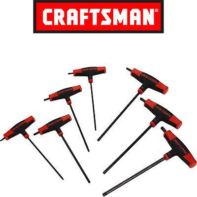- Craftsman 7pc T-Through Handle Torx Hex Key Set 46410