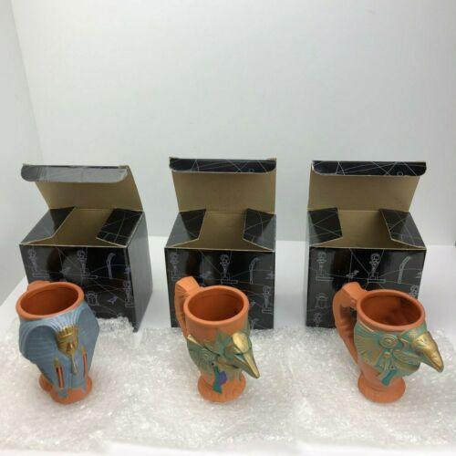 Complete Set of 3 Stargate Applause Mugs - Anubis, Horus, Ra - NEW