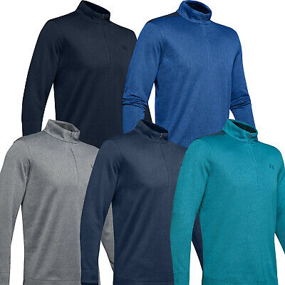 Under Armour 2020 Mens UA SweaterFleece 1/2 Zip Golf Top Pullover Jumper