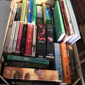 #2 Box full of books mixed $20 Fiction and non fiction