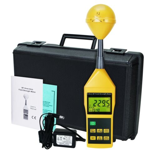 Electromagnetic Radiation Tester Detector 10mhz To 8ghz Rf