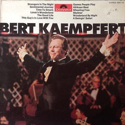BERT KAEMPFERT STRANGERS IN THE NIGHT POLYDOR 2335115 VINYL LP F12