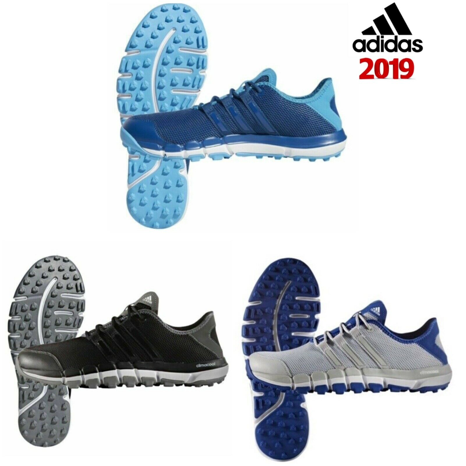 Details about Adidas Climacool St. Studs Loose Mens Golf Shoes- show  original title