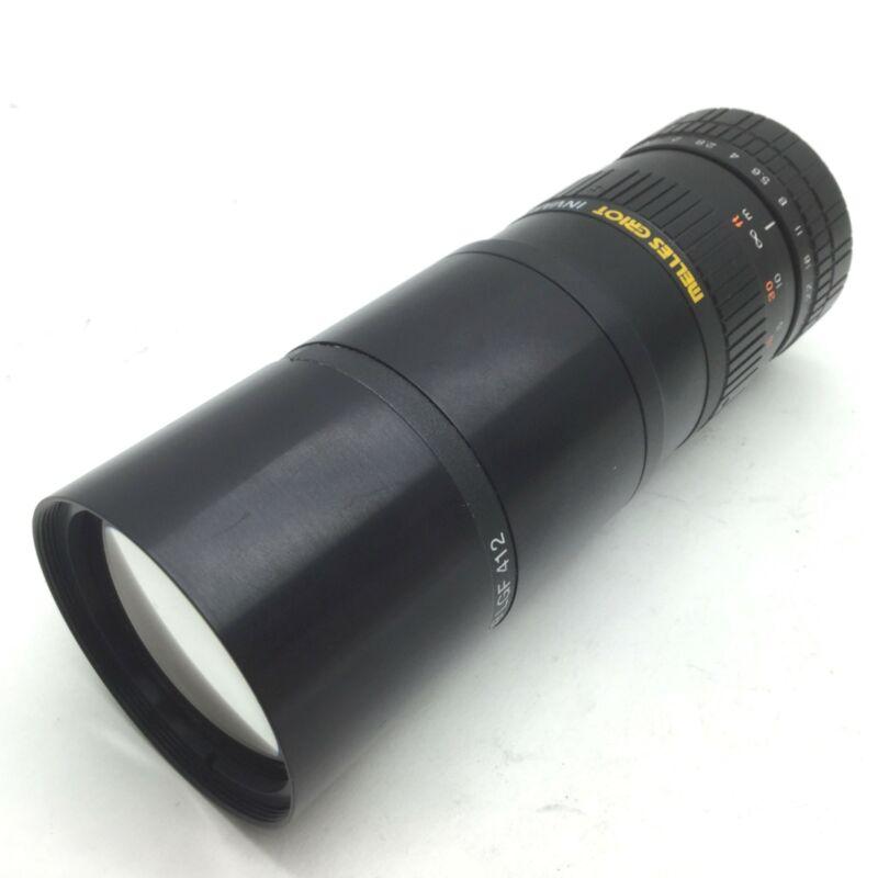 Melles Griot 59LGC550 Invaritar Machine Vision Lens 1-10m FL f/1.4-22 59LGF412