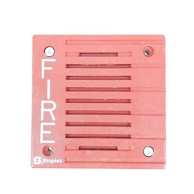Simplex 4901-9805 24vdc Red Alarm Horn
