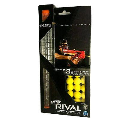 Nerf Rival 18 Round Refill Pack NIP 12 Round Magazine Clip High Impact Balls