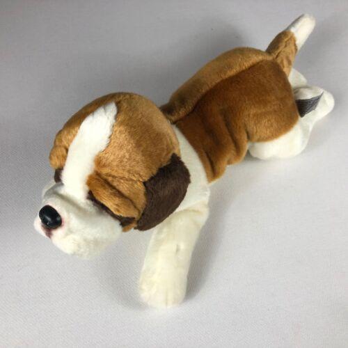 "Yomiko Classics Plush Dog St Bernard Russ 18"" Stuffed Large Beans Big Puppy Toy"
