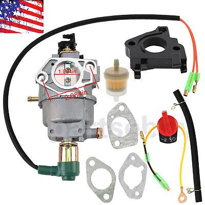 13hp 14hp 6500 7550 Watts Dek Generator 6500 6500el 7550el Pro 401cc Carburetor