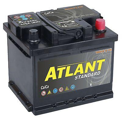 Autobatterie 45Ah 12V 440A/EN ATLANT TOP ANGEBOT SOFORT & NEU 45 Ah 24 Volt 100 Amp