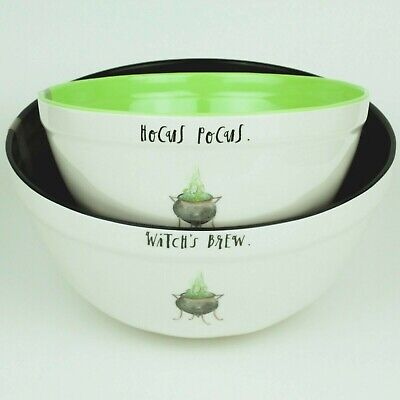 Lots Of Halloween Candy (Rae Dunn - HALLOWEEN Candy/Mixing Bowls - (Set of 2) - HOCUS POCUS+WITCHES)