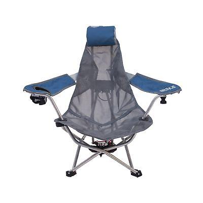SwimWays Mesh Backpack Chair - Woven Seat - Aluminum Frame