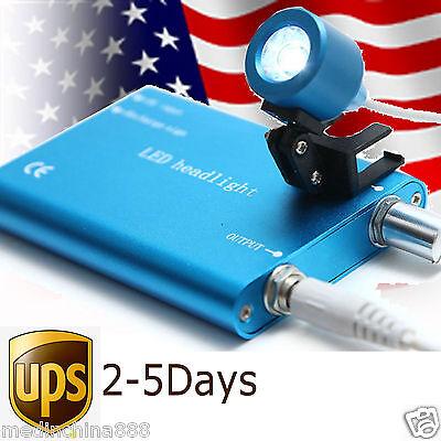 Usa Blue Portable Dental Led Head Light Lamp For Dental Loupe For Dentist