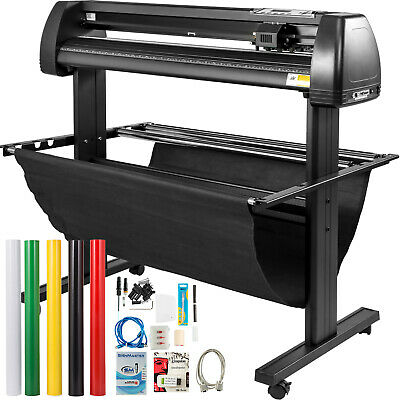 34 Cutter Vinyl Cutter Plotter Sign Cutting Machine Wsoftware Supplies