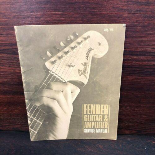1968 Fender Guitar and Amp Repair Service Manual