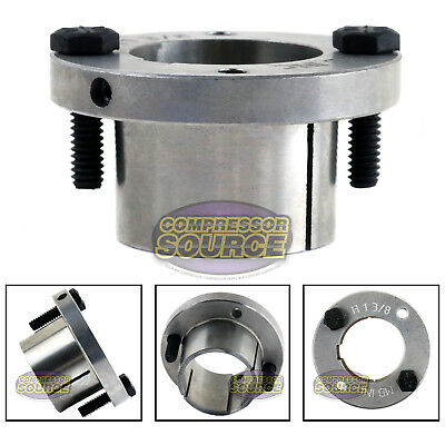 1-38 Bore H Style Steel Sheave Pulley Bushing Split Taper For Keyed Shaft