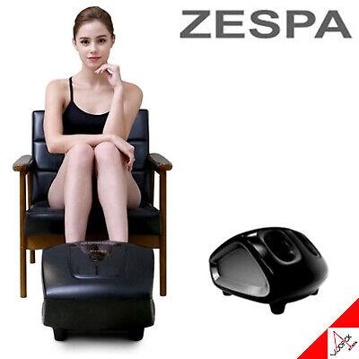 Zespa BLACK SAR ZP3630 3-Step Foot Sole Rolling Hot Heated Air Pressure Massager