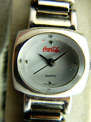 COCA-COLA@COLLECTIBLE   WATCH / very petite face ladies watch