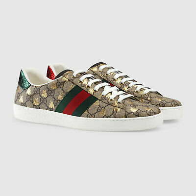 Gucci Shoes Men's Ace GG Supreme bees sneaker