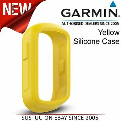 Garmin Silicone Case¦Protective Cover¦For Edge 130 GPS Bike Computer¦Yellow¦New