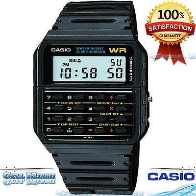Casio Ca53w 1 Classic Digial 8 Digit Calculator Watch Alarm Stopwatch Day Date