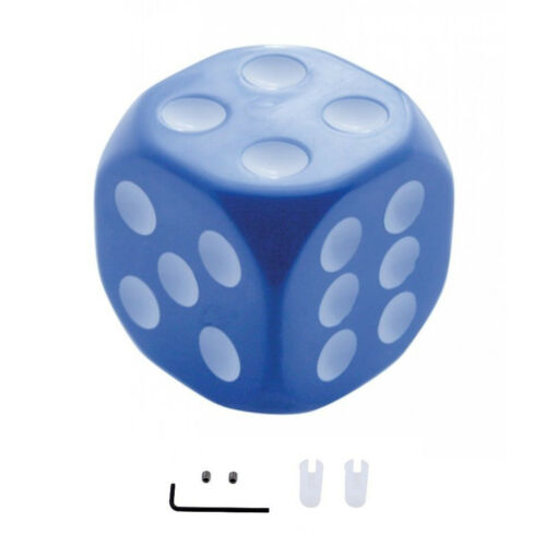Blue Dice Gear Shift Knob Lever Handle Column Floor Shifter Hot Rat Street Rod