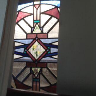 Beautiful lead light Art Deco door Terrigal Gosford Area Preview