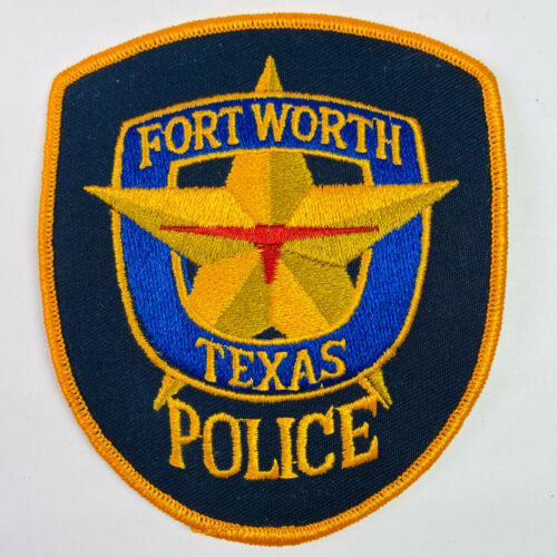 Fort Worth Police Texas TX Patch A4A