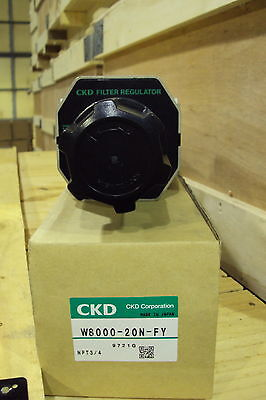 Ckd Filter Regulator W8000-20n-fy