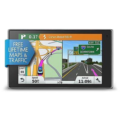 "Garmin DriveLuxe 50LMTHD Prestige 5"" GPS w/ Built-In Bluetooth Lifetime Maps"