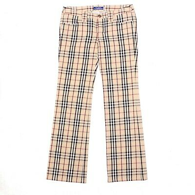 Burberry blue label nova check jeans XS/S
