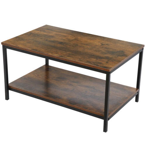 Table with Storage Sofa Table for Living Room, Dining Room Wood Look Accent Furniture