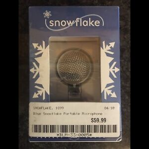 Snowflake portable USB microphone