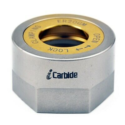 New Precision Er20 Ball Bearing Collet Nut Tool Holder Collet Nut