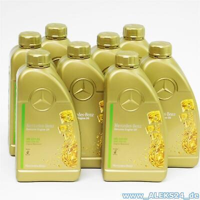Orig. Mercedes Synthetic Motoröl Ölservice 5W30 MB 229.52 A000989950211 8 Liter