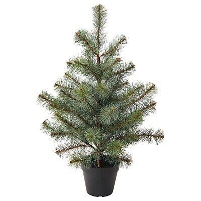 IKEA Vinterfest Artificial en Maceta Planta Navidad Invierno Árbol 55 CM En...