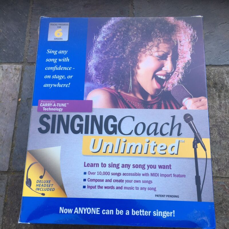 Singing Coach Unlimited-BRAND NEW SEALED
