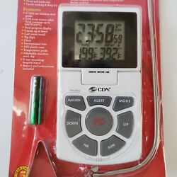 CDN Combo Probe Thermometer Timer Clock Brand New