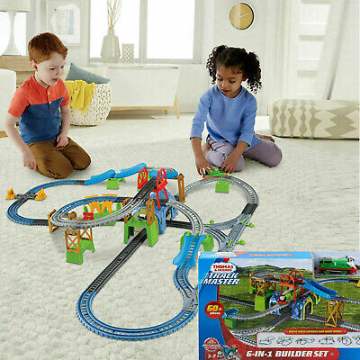 Kids Toys Thomas and Friends Happy Train Engine Trackmaster Builder Set XMAS Toy