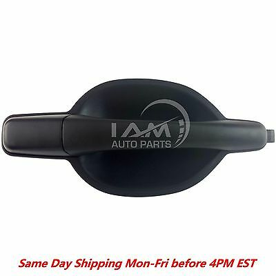 Outside Exterior Door Handle Front Right Pass  Black Textured For 04 11 Endeavor