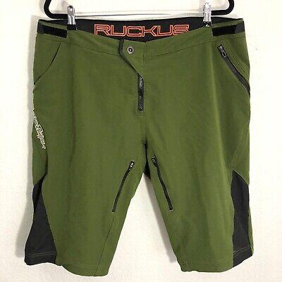 Troy Lee Designs Black SKYLINE Mountain Bike Shorts Shell Size 32-38