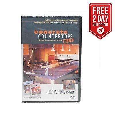 Specialty Diamond Dvd Futung Cheng Concrete Countertop Diy Learning How To Dvd