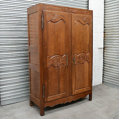 18th century Period oak Antique Louis style Armoire