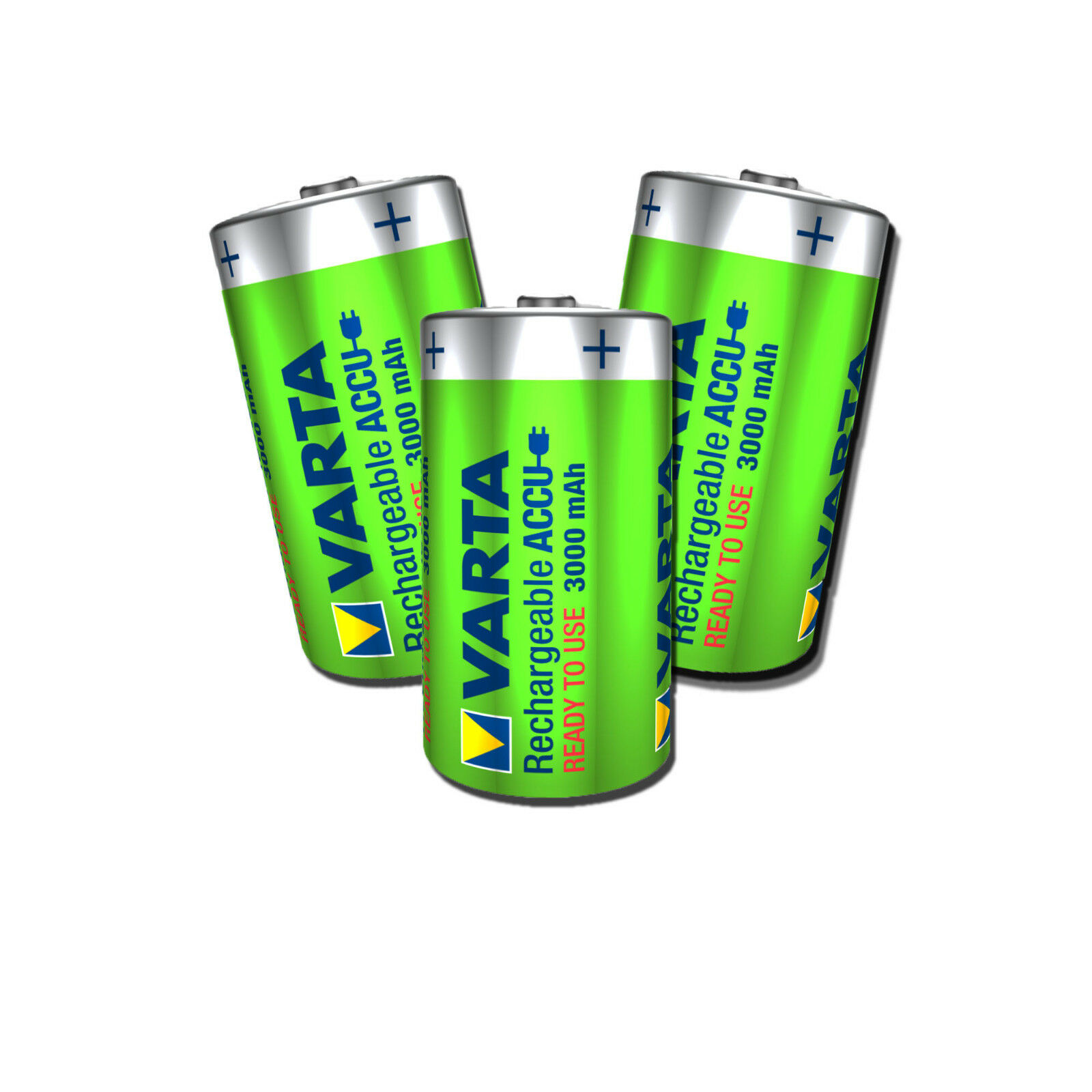 VARTA Mono D Power Akku Ready 2 Use 56720 Accu 3000 mAh NiMH HR20