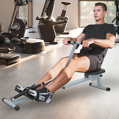 HOMCOM New Rowing Machine for Home Cardio Fitness Workout and Gym Training