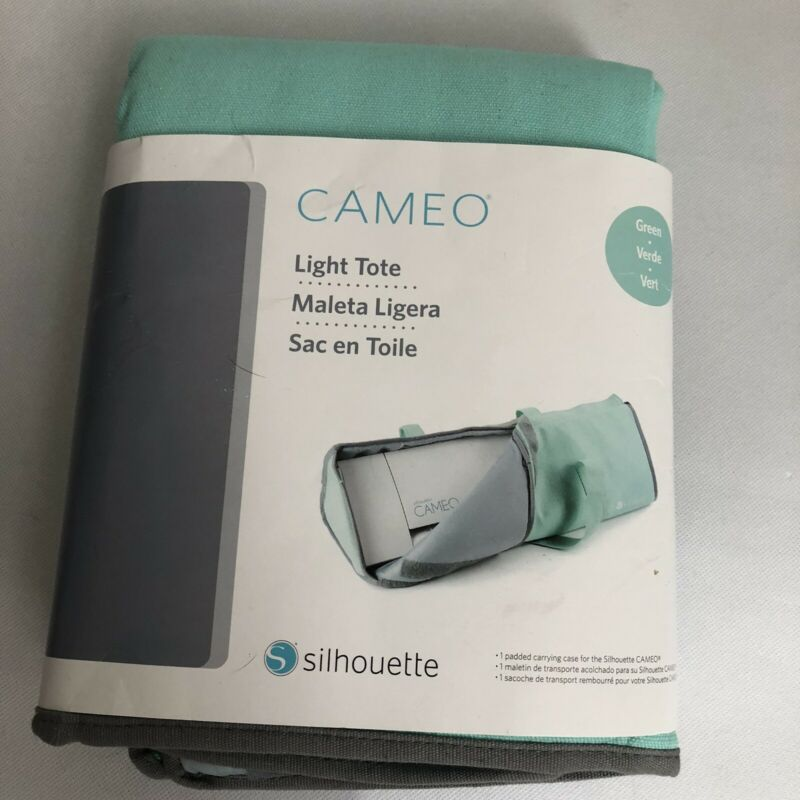 Silhouette Cameo Light Tote Green Mint