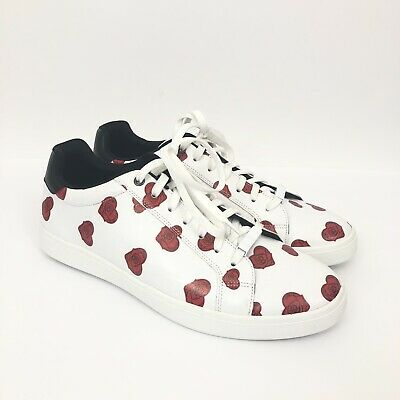 Aldo Mens Size 9 Ingerman Valentine's Day Collection Floral Heart Print