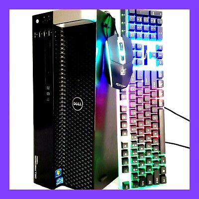 Gaming PC Desktop Computer 16GB RAM GTX 1060 Xeon = Intel i7 256GB SSD + 2TB HDD