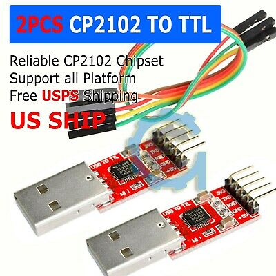 Cp2102 Usb 2.0 To Uart Ttl 5pin Module Serial Converter Adapter Redsilver Ts