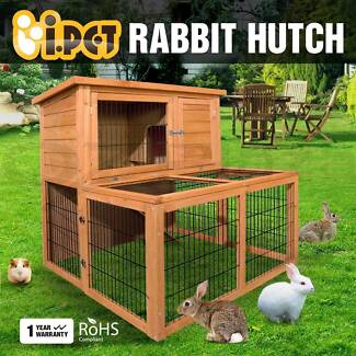 Rabbit Hutch Chicken Coop Guinea Pig Ferret Cage Hen Brand New